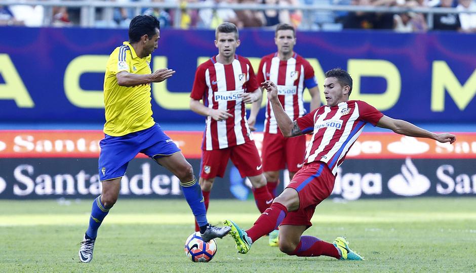 Pretemporada 16-17. Cádiz - Atlético de Madrid. Lucas Hernández