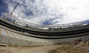 Temporada 16/17. Fotos del nuevo estadio 17-08-2016