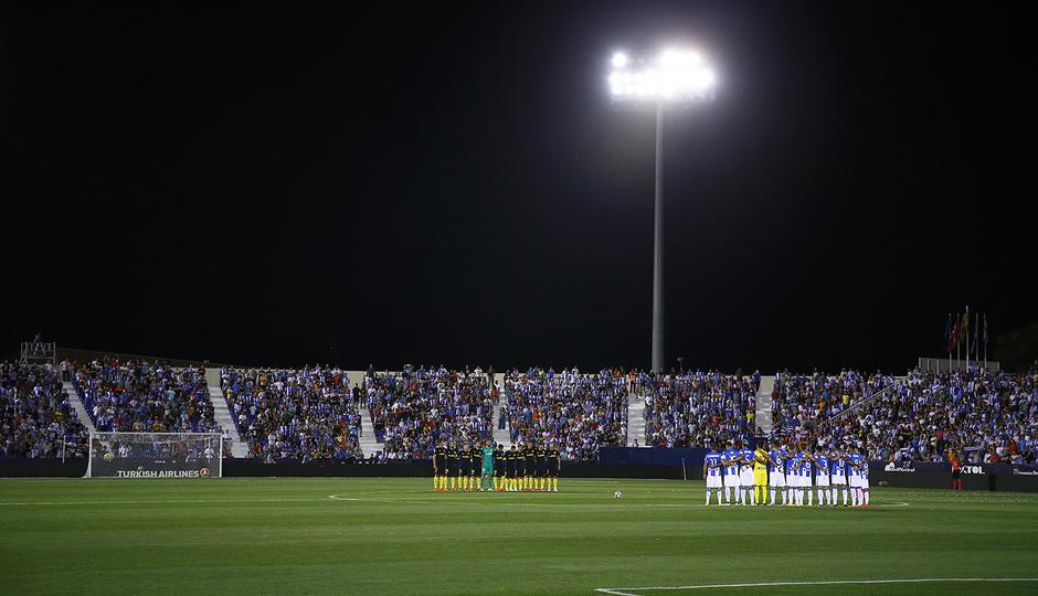 Temp. 16/17 | Leganés - Atlético de Madrid | Minuto de silencio