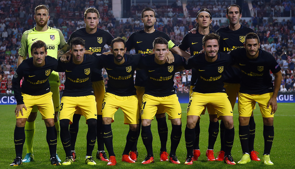 Temp. 16/17 | PSV - Atlético de Madrid | Once inicial