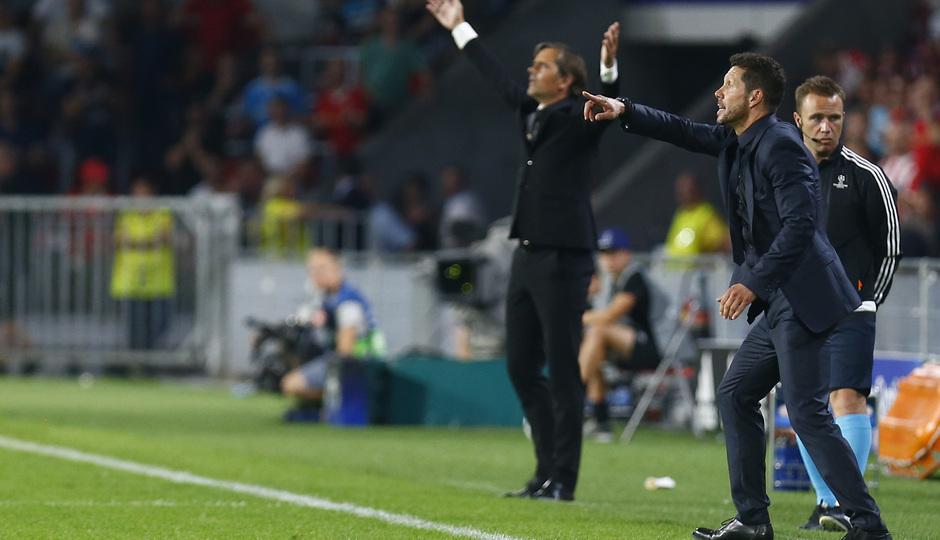 Temp. 16/17 | PSV - Atlético de Madrid | Simeone