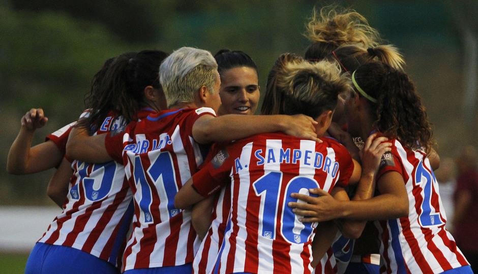 Temporada 2016-2017. Atlético de Madrid Femenino vs Sporting de Huelva. 08-10-2016. Sonia Bermudez.
