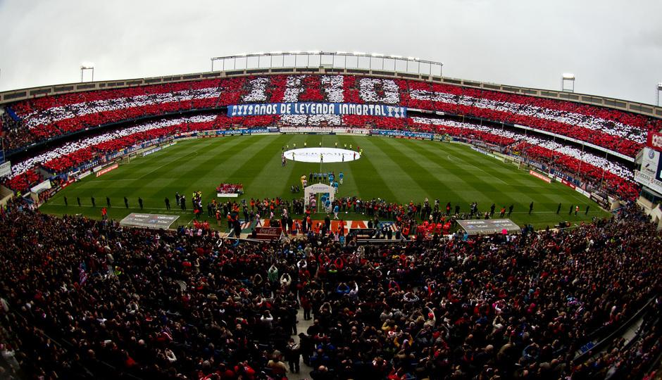 Mosaico Atlético de Madrid - Real Madrid 2