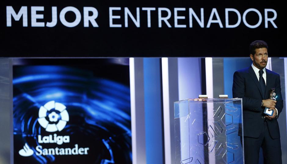 Gala premios de LaLiga 2016. Simeone