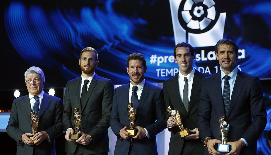 Gala premios de LaLiga 2016.