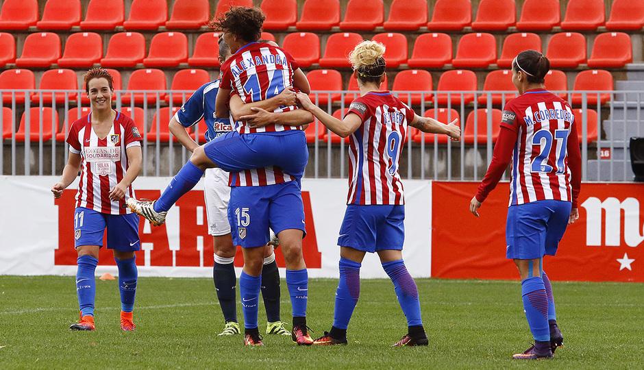 Atlético de Madrid Femenino - Oiartzun KE