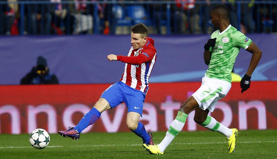 Temp. 16/17 | Atlético de Madrid - PSV | Gameiro