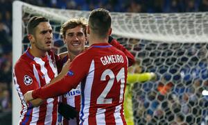 Temp. 16/17 | Atlético de Madrid - PSV | Celebración