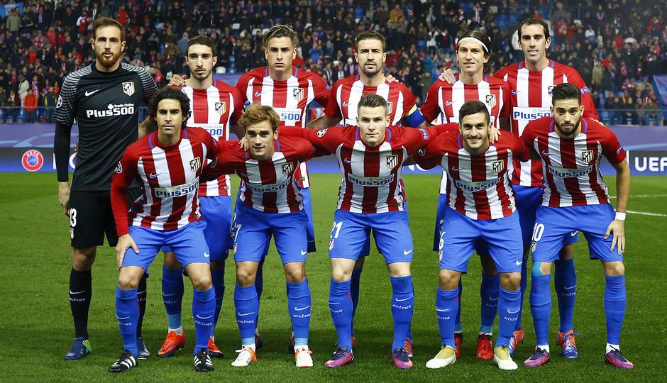 Temp. 16/17 | Atlético de Madrid - PSV | Once