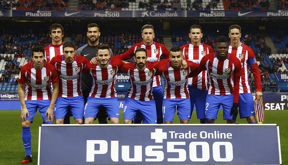 Temp. 16/17 | Atlético de Madrid - Guijuelo | Once