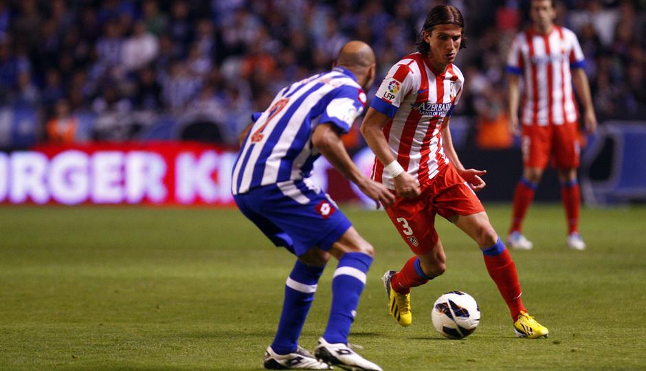 Temporada 12/13. Deportivo de La Coruña vs. Atlético de Madrid 12