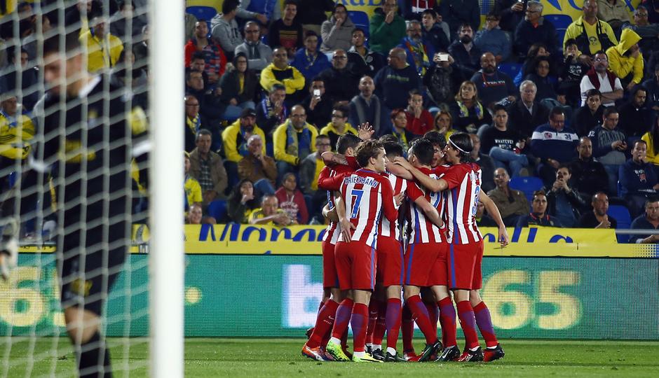 Temp. 16/17 | Las Palmas - Atlético de Madrid | Celebración