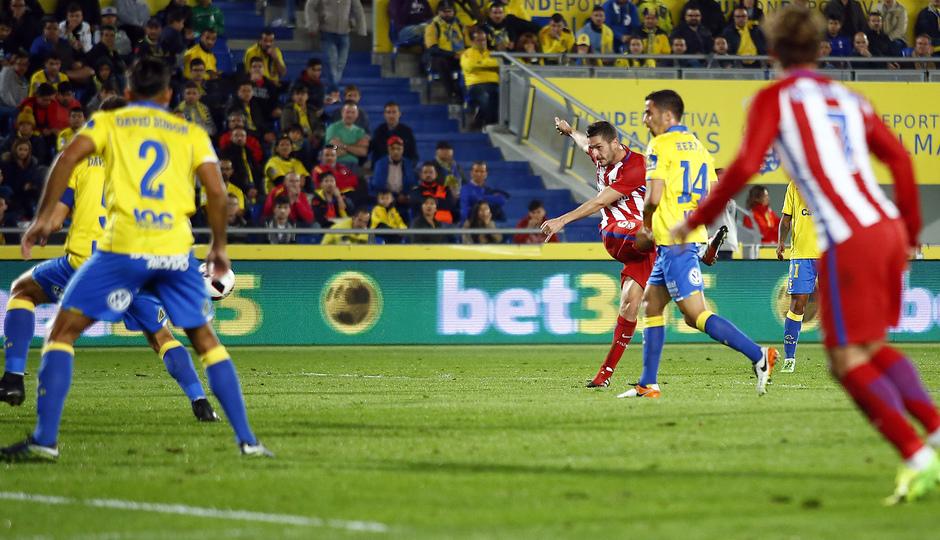 Temp. 16/17 | Las Palmas - Atlético de Madrid | Koke