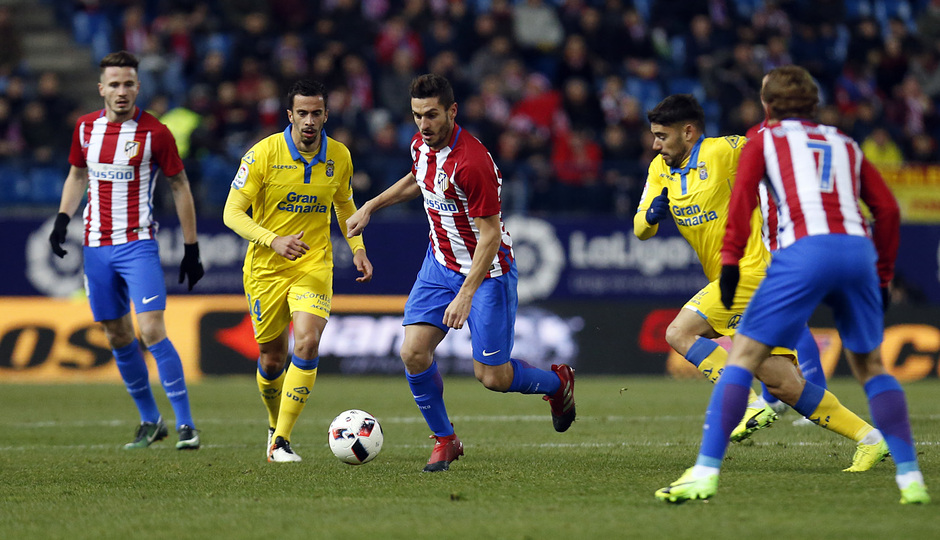 Temp. 16/17 | Atlético de Madrid - Las Palmas | Koke