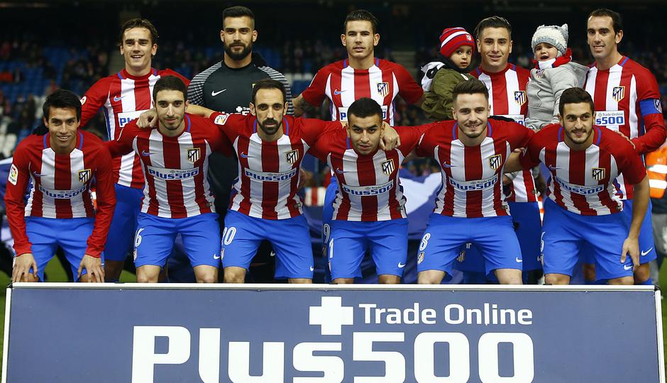 Temp. 16/17 | Atlético de Madrid - Las Palmas | once