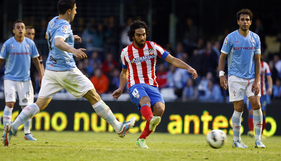 Temporada 12/13. RC Celta de Vigo vs. Atlético de Madrid 1