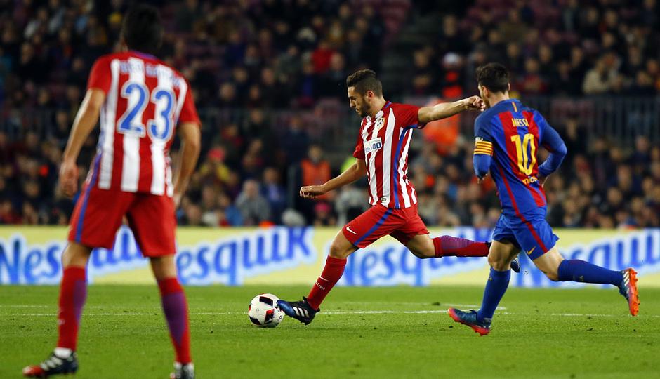 Temp. 16/17 | FC Barcelona - Atlético de Madrid | Koke