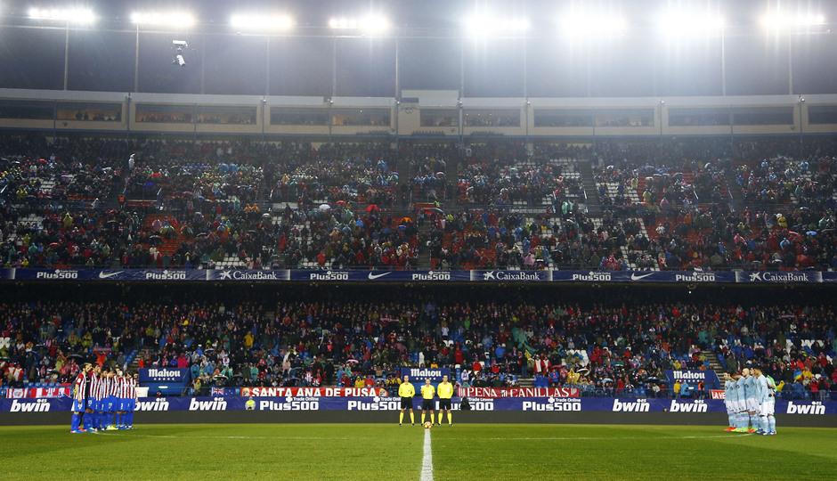 Temp. 16/17 | Atlético de Madrid - Celta | Minuto de silencio