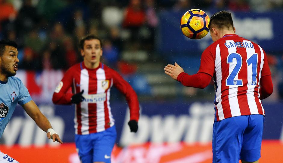Temp. 16/17   Atlético de Madrid - Celta   Gameiro
