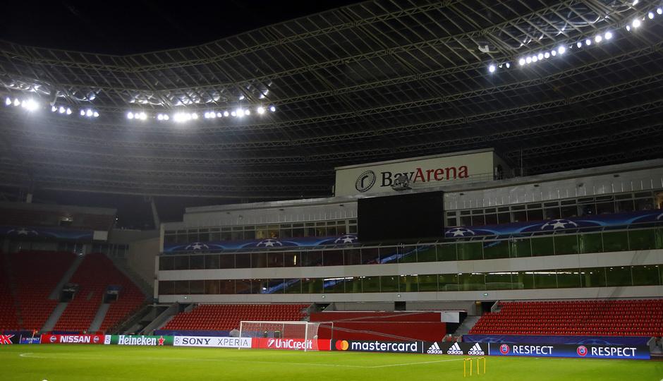 Temp. 16/17. Estadio BayArena del Bayer Leverkusen
