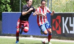 Temporada 2012-2013. Serrano gana la línea de fondo ante Olabarrieta