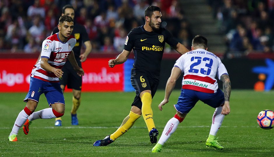 Temp. 16/17 | Granada - Atlético de Madrid | Koke
