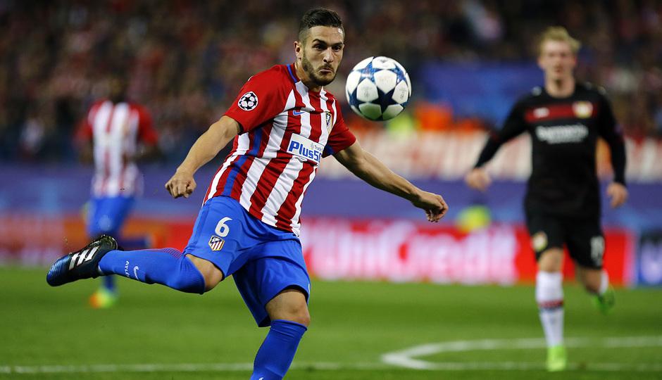 Temp. 16/17 | Atlético de Madrid - Bayer Leverkusen | Koke