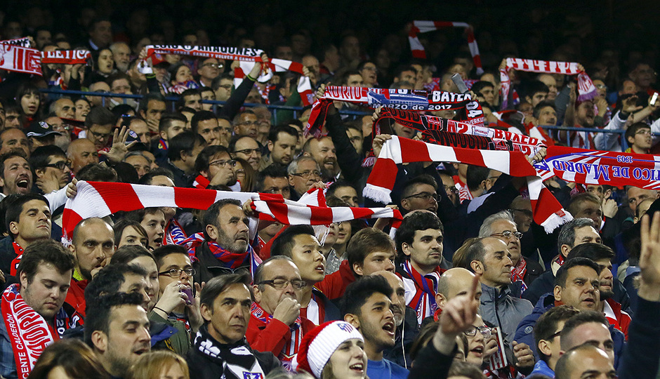 Temp. 16/17 | Atlético de Madrid - Bayer Leverkusen | Afición