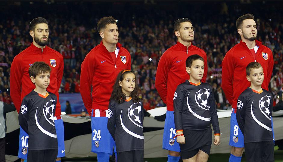 Temp. 16/17 | Atlético de Madrid - Bayer Leverkusen | Himno