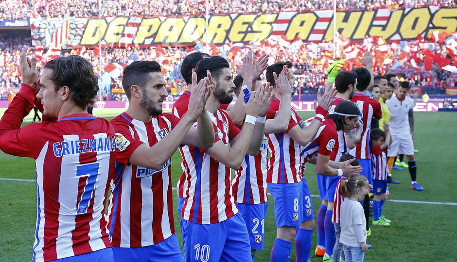 Temp. 16/17 | Atlético de Madrid - Sevilla | Día del padre