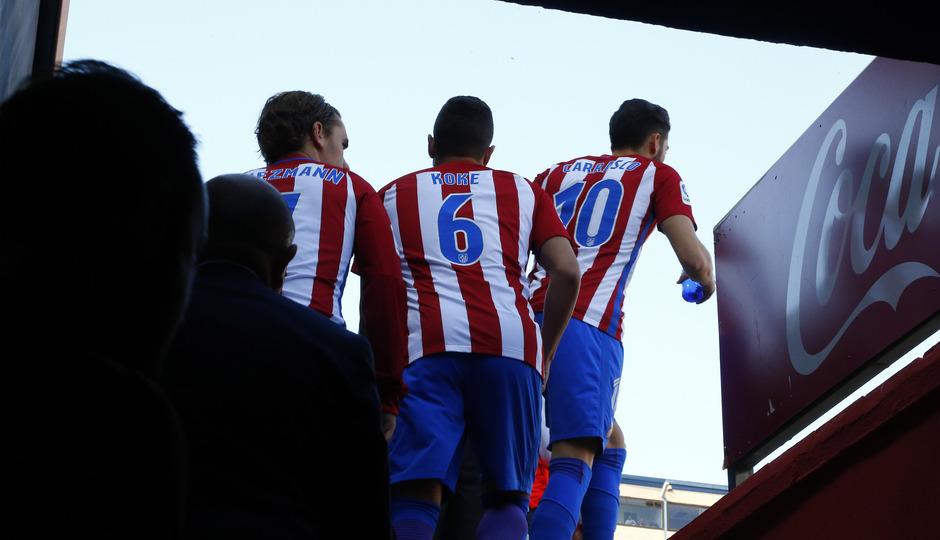 Temp. 16/17 | Atlético de Madrid - Sevilla | Túnel de vestuarios