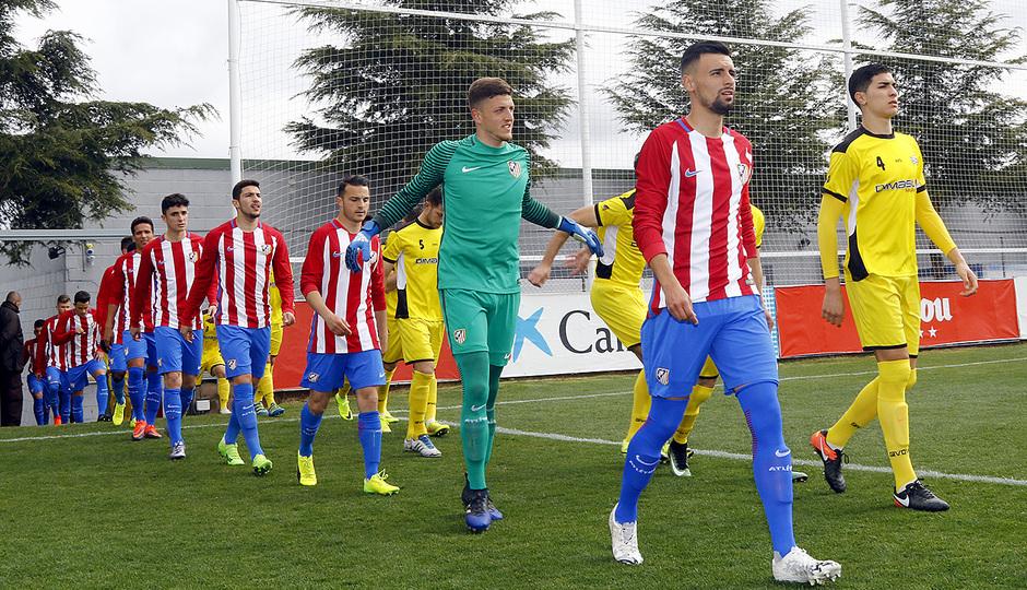 Temp. 16/17 | Atlético de Madrid B - Villanueva del Pardillo | Onces