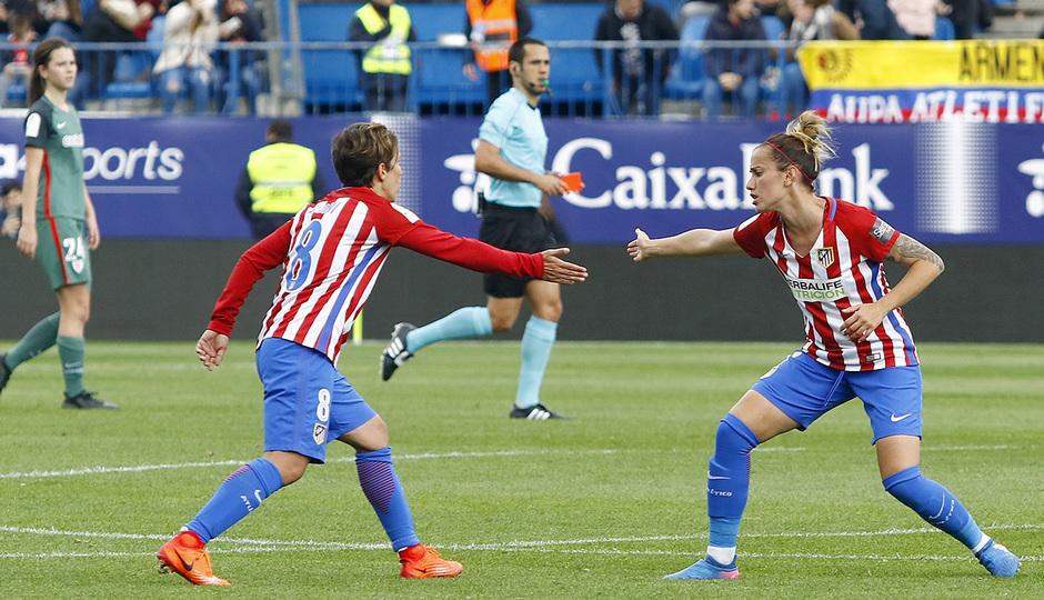 La otra mirada. Atlético Femenino - Athletic