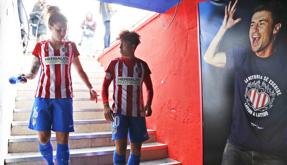 Temporada 2016-2017. La otra mirada del Atlético de Madrid Femenino contra el Athletic Club. 26_03_2017.