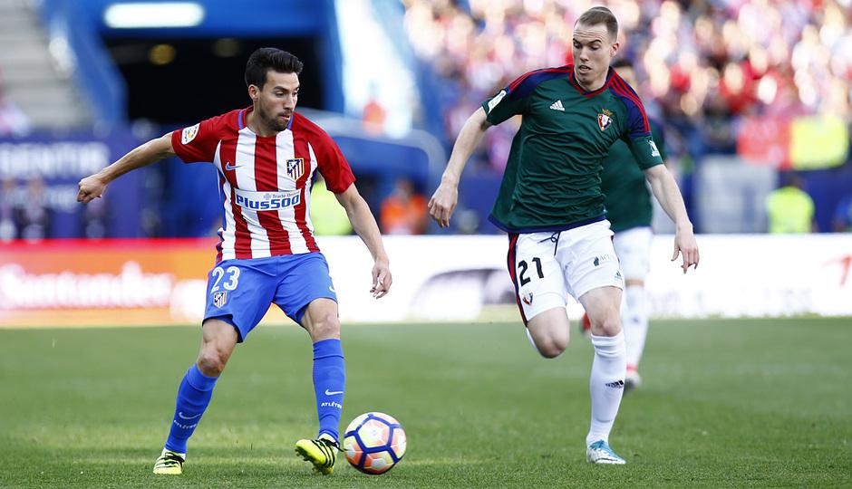 Temp. 16/17 | Atlético de Madrid - Osasuna | Gaitán