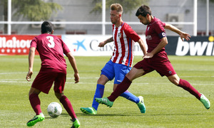 Temporada 2016-2017. Partido entre el Atlético de Madrid 'B' contra el Aravaca. 16_04_2017.