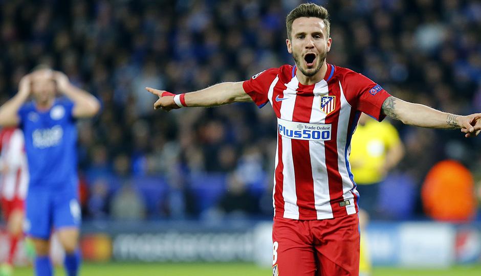 Temp. 16/17 | Leicester - Atlético de Madrid | Saúl