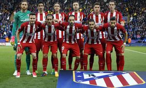 Temp. 16/17 | Leicester - Atlético de Madrid | Once