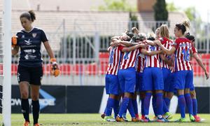 Liga Iberdrola | Atlético de Madrid Femenino - Santa Teresa | Celebración