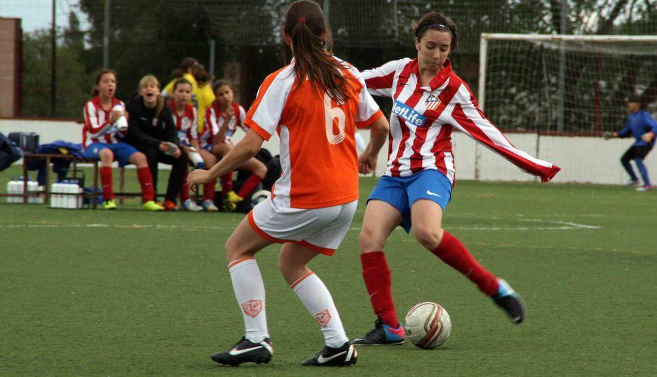 """Temporada 2012-2013. El Sub-13 """"A"""" del Féminas campeón de Liga"""