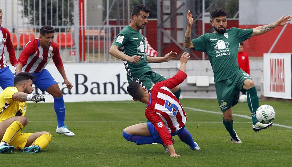 Temporada 16/17 | Atlético B - Villaverde | Gol de Rafa