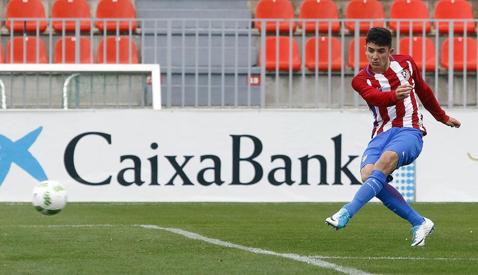 Temporada 16/17 | Atlético B - Villaverde | Gol Rubén