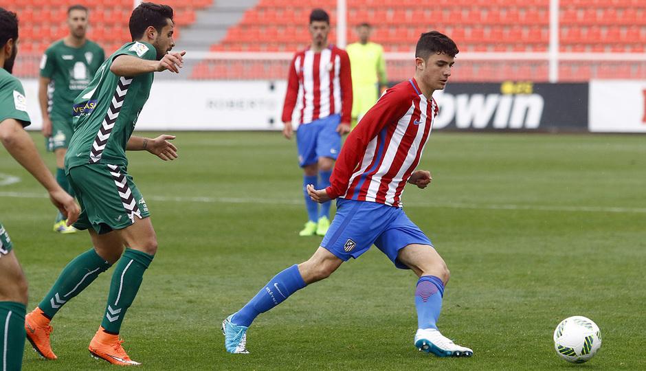 Temporada 16/17 | Atlético B - Villaverde | Rubén
