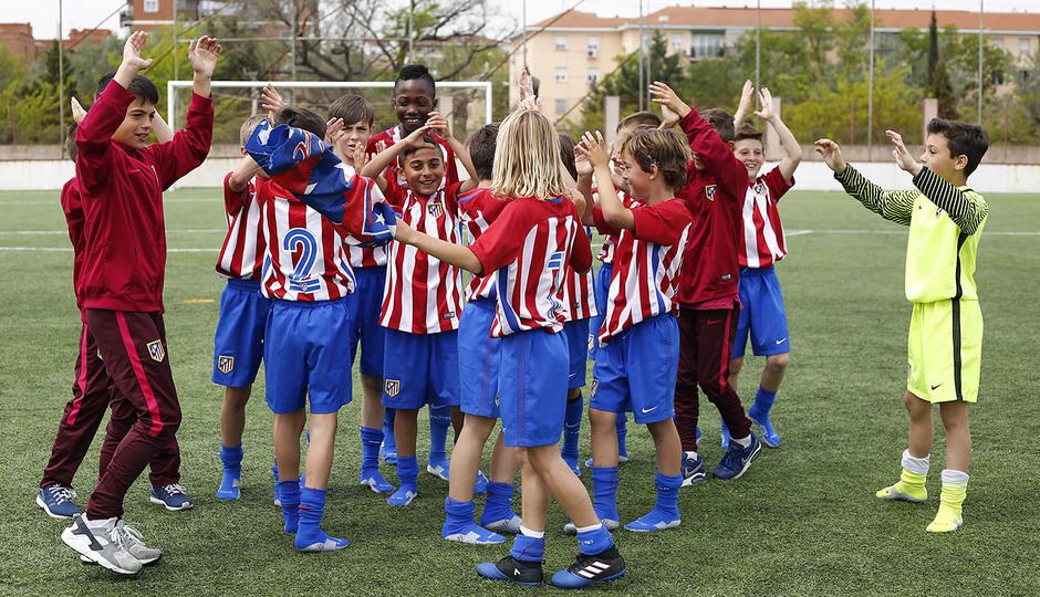 2016-2017 - Benjamín A: Celebración liga 3