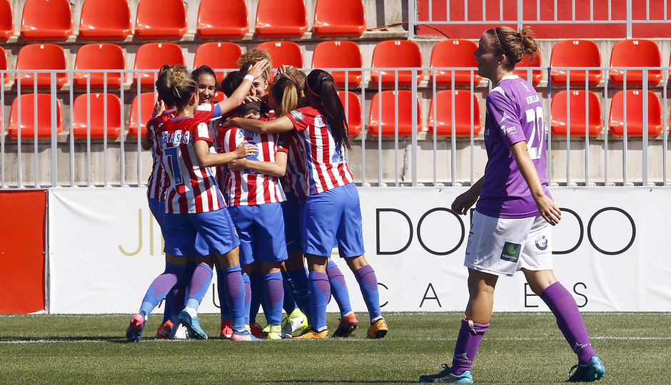 Temp. 16/17 | Atlético de Madrid Femenino - Granadilla | Piña