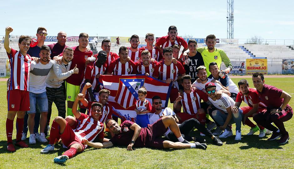 Temp. 16/17 | Parla - Atlético de Madrid B | Celebración