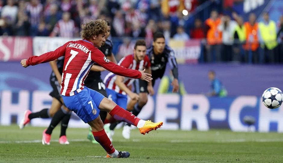 Temp. 16/17 | Atlético de Madrid - Real Madrid | Griezmann