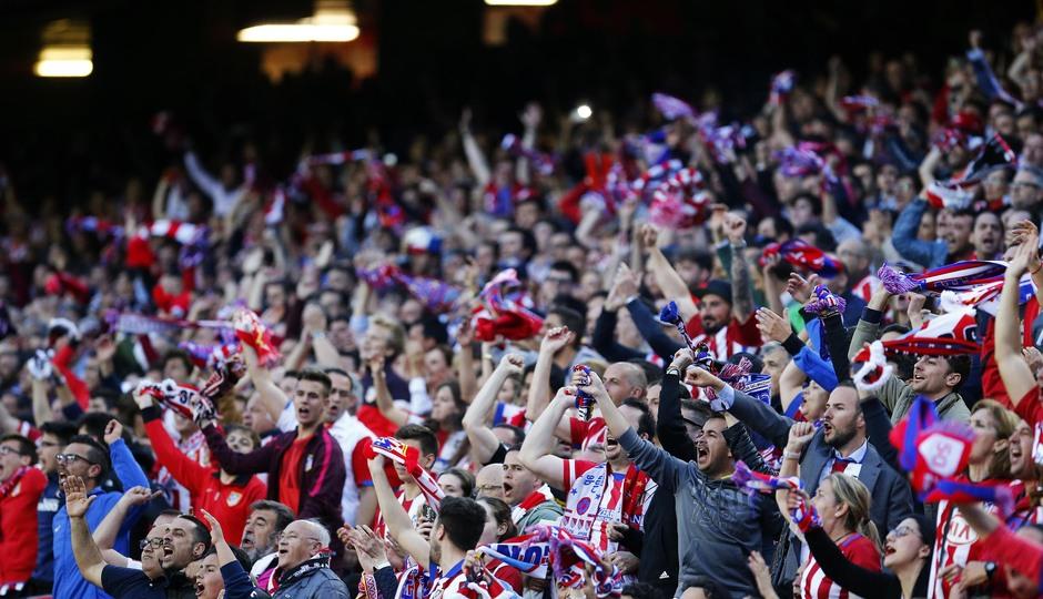 Temporada 2016-2017. Partido entre el Atlético de Madrid contra el Real Madrid en semifinal de champions. 10-05-2017.