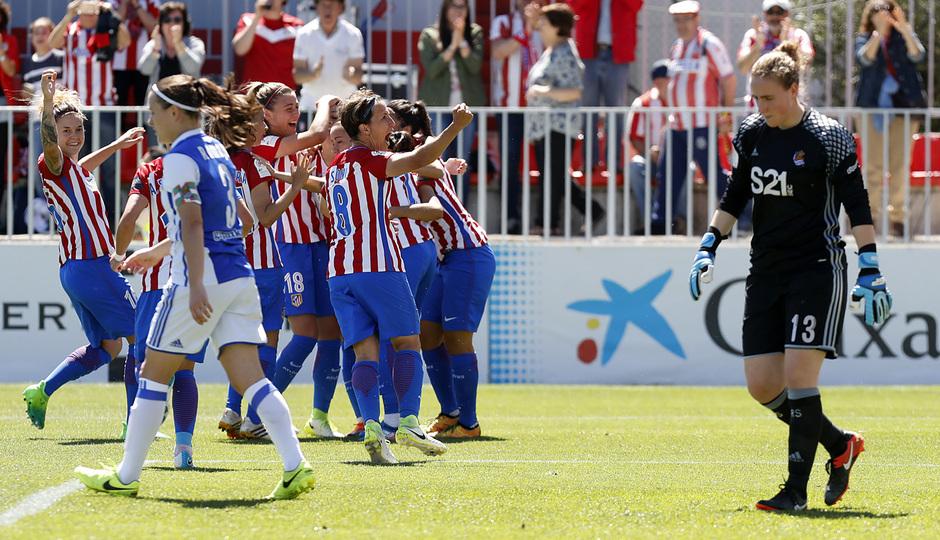 Liga Iberdrola | Atlético de Madrid Femenino-Real Sociedad | Celebración