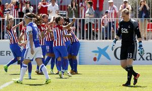Liga Iberdrola   Atlético de Madrid Femenino-Real Sociedad   Celebración